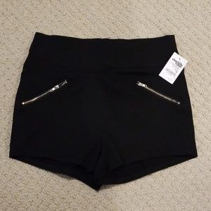 Stretch mini shorts